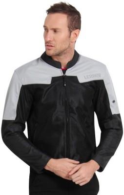 Leiidor LDR003SGrey Riding Protective Jacket(Black, Grey, XL / 44 cm)