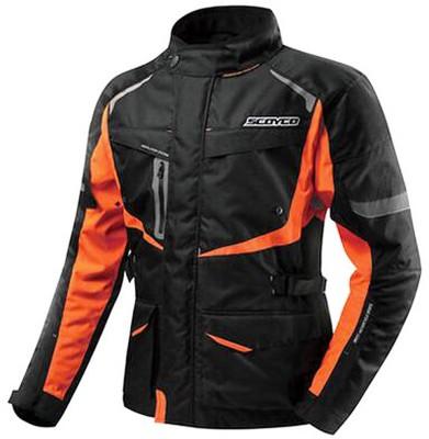 Scoyco JK42 Riding Protective Jacket(Black, Orange, 44)