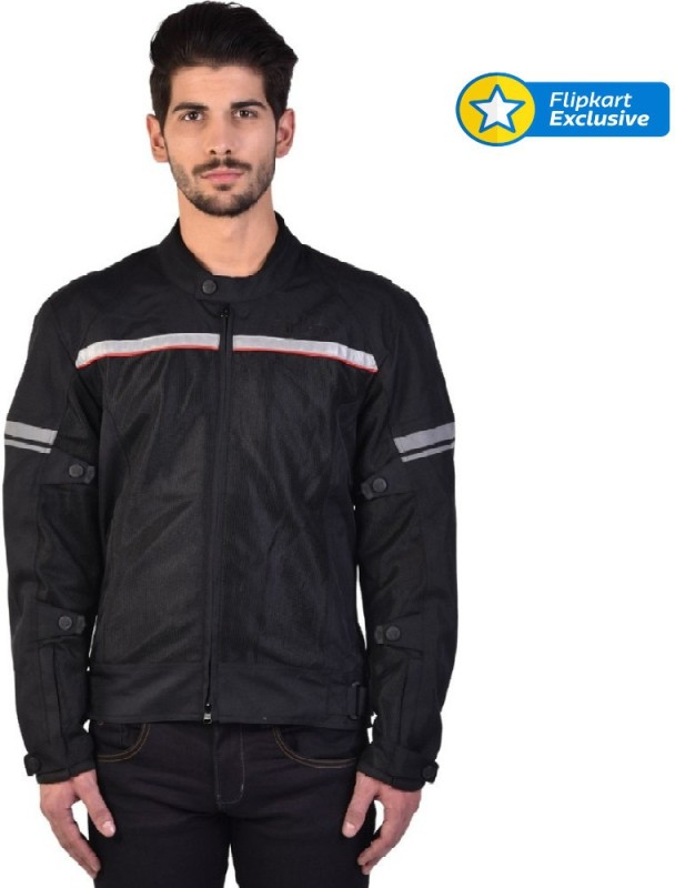 Royal Enfield Riding Protective Jacket(Black, L)