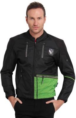 Leiidor LDR007Green FL Riding Protective Jacket(Black, Green, M / 40 cm)