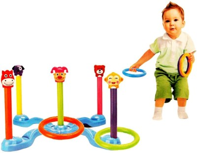 Zest4toyz Battery operated Musical Game with Lights - A Family Entertainer Ring Toss