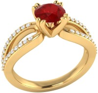 Demira Jewels Solitaire Yellow Gold Ruby, Diamond 14K Yellow Gold Ring best price on Flipkart @ Rs. 18993
