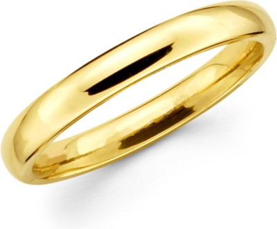Spangel Fashion Brass Yellow Gold Ring