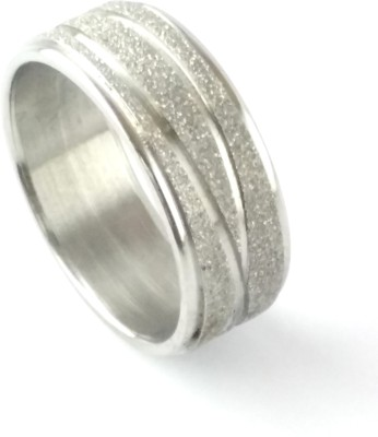 Italian Fashion Trendy Band Stainless Steel Ring