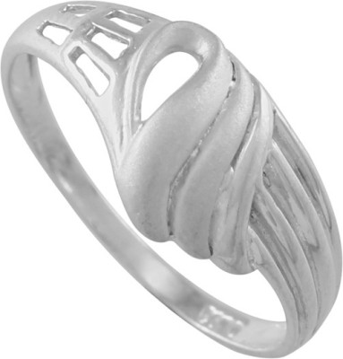 925 Silver Bonding Pattern Sterling Silver Ring