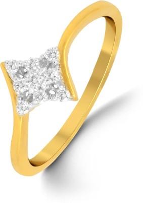 P.N.Gadgil Jewellers 18kt Diamond Yellow Gold ring at flipkart