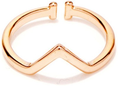 Cheevino Brass 18K Rose Gold Knuckle Ring
