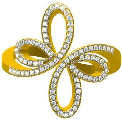 Sakshi Jewels Amrelia Gold Diamond Yellow Gold Ring
