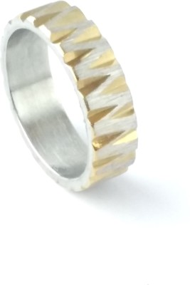 Italian Fashion Business Band Stainless Steel Ring