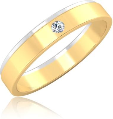 IskiUski Cosmic Swirl Ring 14kt Diamond Yellow Gold ring