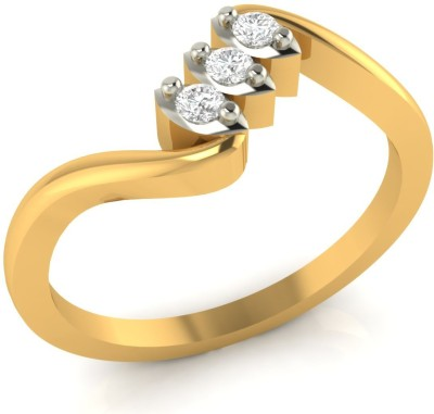 WearYourShine by PC Jewellers The Seeya 14kt Diamond Yellow Gold ring