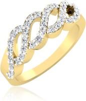 Forevercarat Eternal Twist Silver Diamond 14K Yellow Gold Ring best price on Flipkart @ Rs. 9943