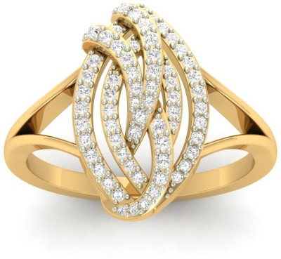 Jewels5 Orabelle 18kt Diamond Yellow Gold ring