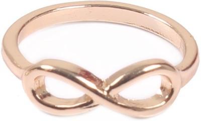 Access-o-risingg Golden Infinity Rings Alloy Ring