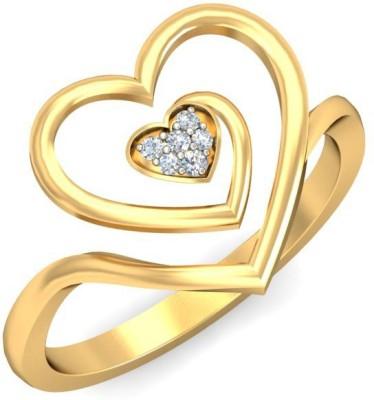 Ornomart Eternal Bonding Gold Diamond Ring