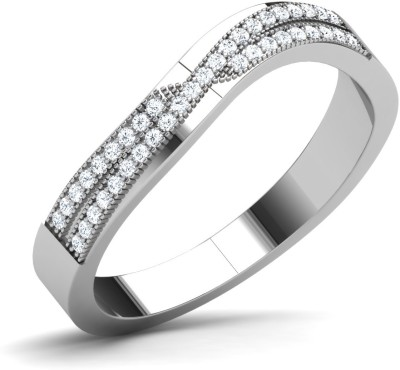 Caratlane Tejasvi Silver Diamond Ring