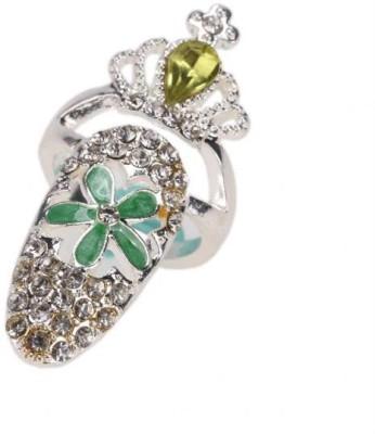 Gliteri Alloy Nail Ring