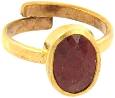 SMS Retail 6.25 Ratti Stone Ruby Ring at flipkart