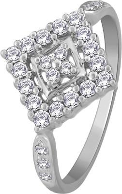 Glitz Design 0.39 CTW Kite 14kt Diamond White Gold ring