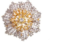 CORNEO CORNEO Copper Diamond 14K Yellow Gold Ring best price on Flipkart @ Rs. 460