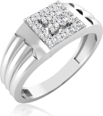 IskiUski Hamish Men's Ring 14kt Diamond Yellow Gold ring(Platinum Plated) at flipkart