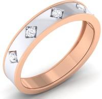 Sheetal Diamonds Real Diamond Wedding Band Metal Diamond 14K Rose Gold Ring best price on Flipkart @ Rs. 18400