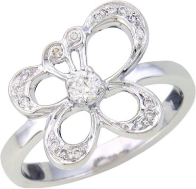 Fullcutdiamond FCDR3097R 18kt Diamond White Gold ring at flipkart