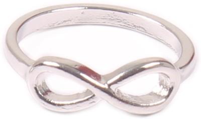 Access-o-risingg Silver Infinity Ring Alloy Ring