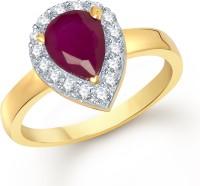Meenaz Alloy Cubic Zirconia Ring