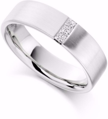 Get best deal for SMBros Excellent Alloy Cubic Zirconia Rhodium Ring at Compare Hatke