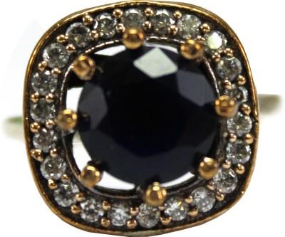 GnJ Sterling Silver Onyx Ring