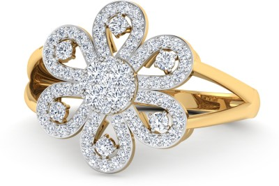 WearYourShine by PCJ The Manar 18kt Diamond Yellow Gold ring