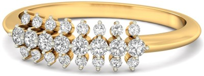 WearYourShine by PC Jewellers The Idelle 18kt Diamond Yellow Gold ring at flipkart