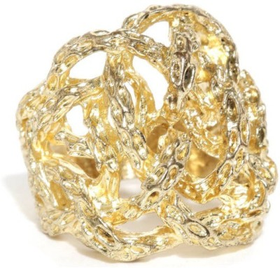 Addons Addons Gold Colored Ring Metal Ring