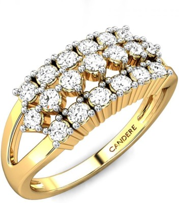 Candere Kaylee 14kt Diamond Yellow Gold ring