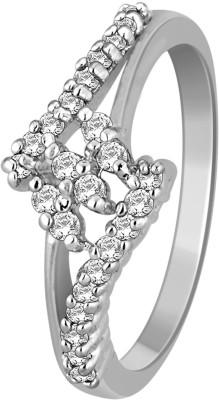 Glitz Design 0.24 Ctw Trio With Accent 14kt Diamond White Gold ring
