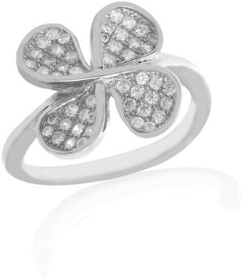 Lucera Fashionable Metal Cubic Zirconia Ring