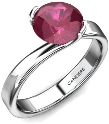 Candere Roselyn 14kt Sapphire White Gold ring