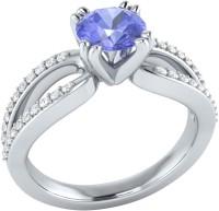 Demira Jewels Solitaire White Gold Tanzanite, Diamond 14K White Gold Ring best price on Flipkart @ Rs. 18993