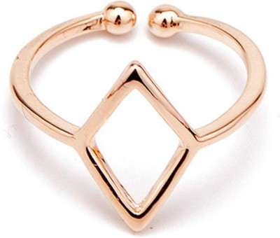 Cheevino Brass 18K Rose Gold Ring