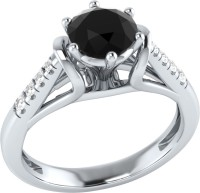 Demira Jewels Dazzling White Gold Spinel, Diamond 14K White Gold Ring best price on Flipkart @ Rs. 17769