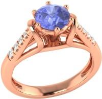 Demira Jewels Dazzling Rose Gold Tanzanite, Diamond 14K Rose Gold Ring best price on Flipkart @ Rs. 17769