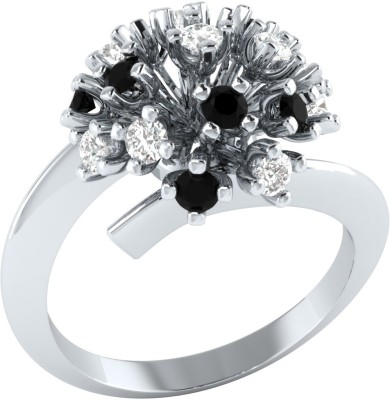 Caratopia Blooming Flora Sterling Silver Spinel, Sapphire Ring at flipkart