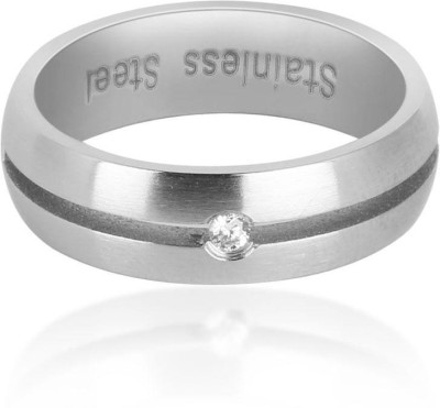 Revv Steel Cubic Zirconia Ring