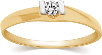 Kama Jewellery Perlita Diamond Ring 9kt Diamond Yellow Gold ring