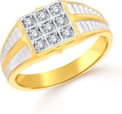 Classic Master Class (CZ) for Men [CJ5021FRG17] Alloy Cubic Zirconia Yellow Gold Ring