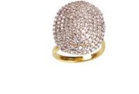 CORNEO Copper Diamond 14K Yellow Gold Ring best price on Flipkart @ Rs. 290