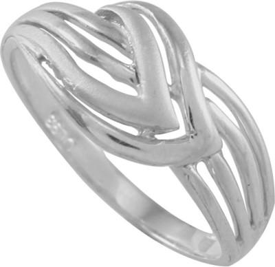 925 Silver Bonding Knot Plain Sterling Silver Ring