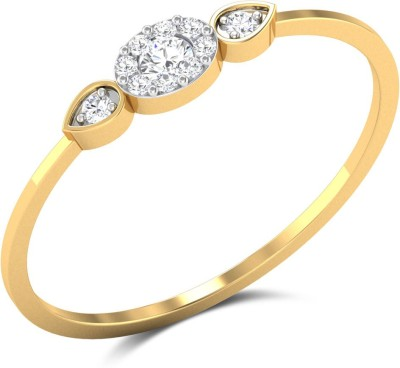 Zaamor Diamonds The Grio Gold Diamond Yellow Gold Ring
