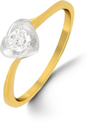 P.N.Gadgil Jewellers 18kt Diamond Yellow Gold ring at flipkart